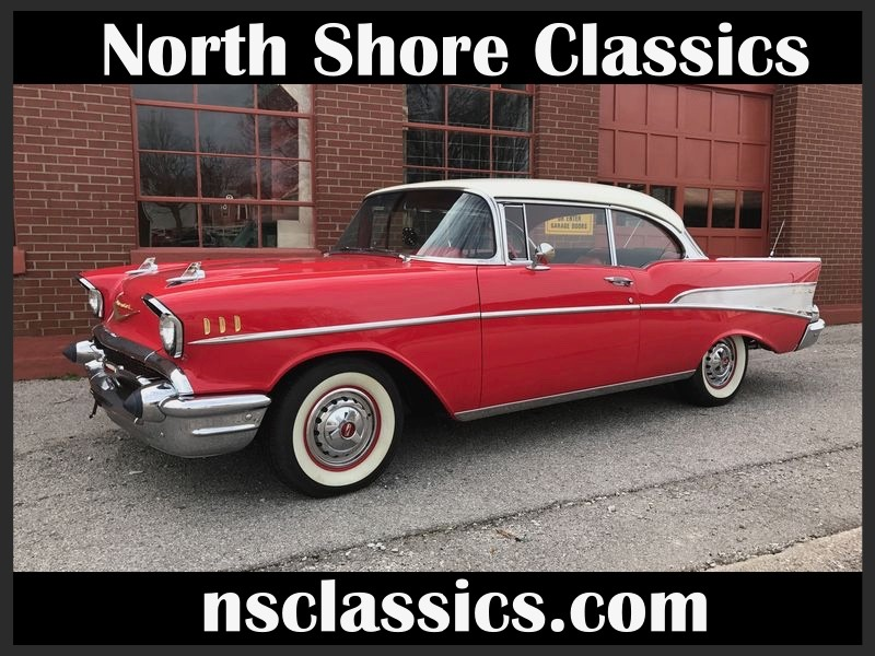 1957 Chevrolet Bel Air -RESTORED CLASSIC- 350/AUTOMATIC-LOW MILES ...