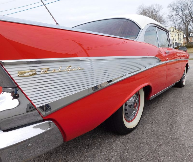 Used 1957 Chevrolet Bel Air/150/210 -RESTORED CLASSIC- 350/AUTOMATIC-LOW MILES | Mundelein, IL