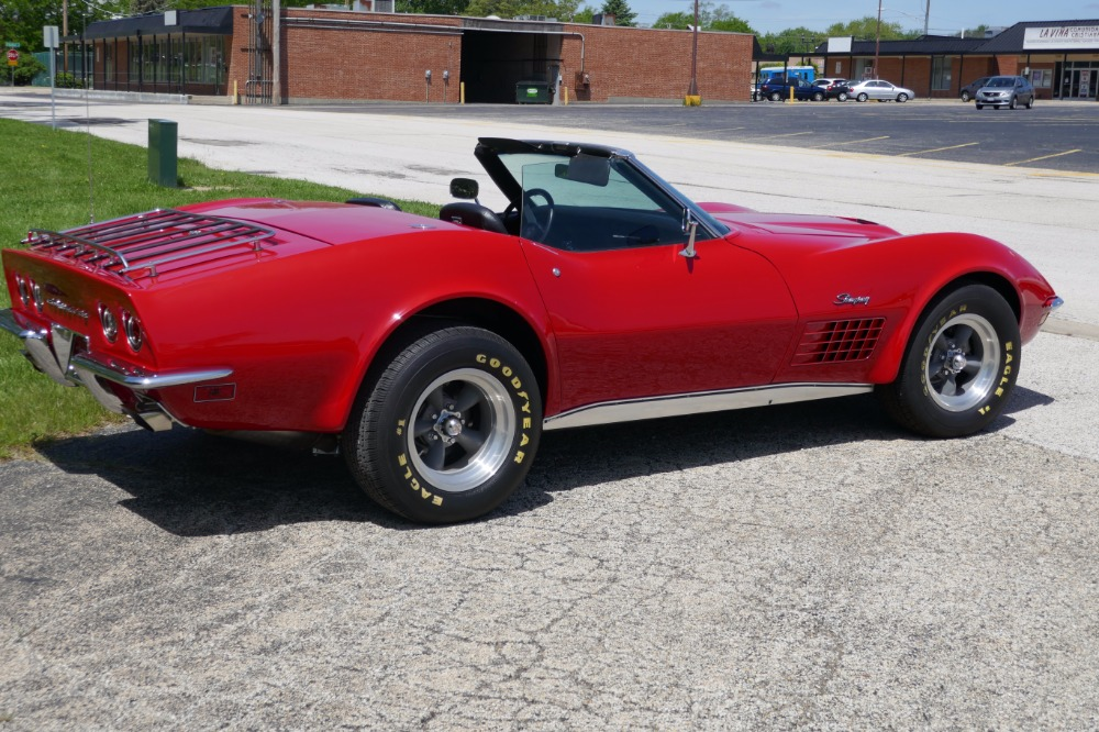 Used 1971 Chevrolet Corvette -NEW LOW PRICE-RED STINGRAY CONVERTIBLE-SEE VIDEO | Mundelein, IL