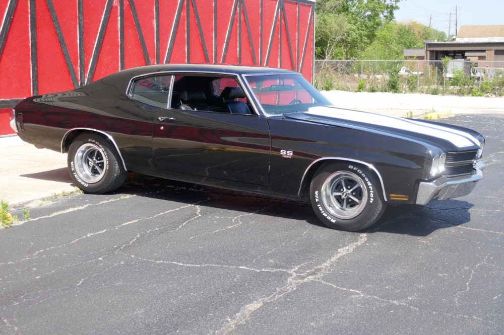 Used 1970 Chevrolet Chevelle -NEWER BLACK PAINT-BIG BLOCK 454 ENGINE-SLICK-SEE VIDEO- | Mundelein, IL