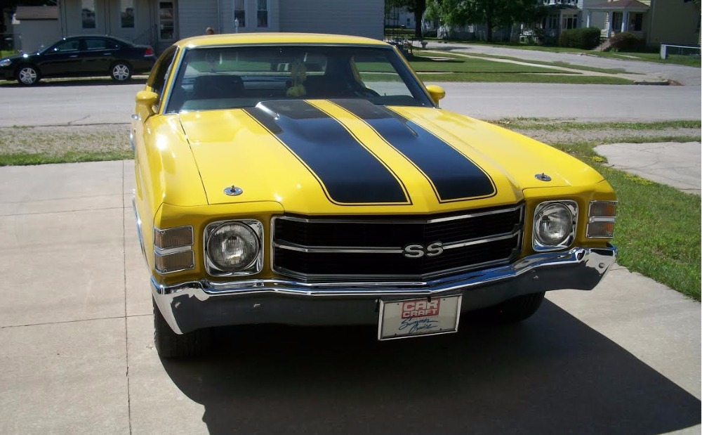 Used 1971 Chevrolet Chevelle -SUPER SPORT- CLEAN AND SOLID- ORIGINAL NUMBERS MATCHING - 402 V8 4SPEED- | Mundelein, IL