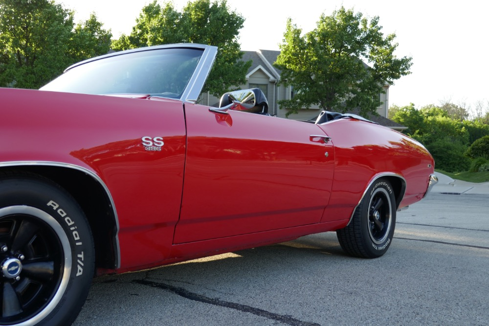 Used 1969 Chevrolet Chevelle -BIG BLOCK ZZ454-4 SPEED CONVERTIBLE- SEE VIDEO | Mundelein, IL