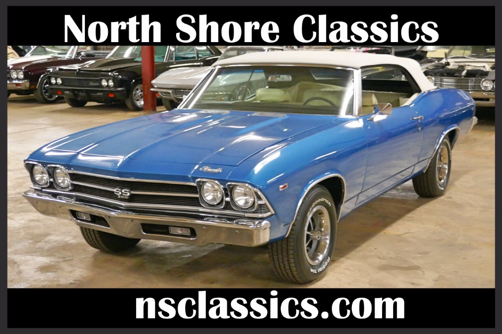 Used 1969 Chevrolet Chevelle -CONVERTIBLE-NEW LOW PRICE- FRAME OFF RESTO-SEE VIDEO | Mundelein, IL