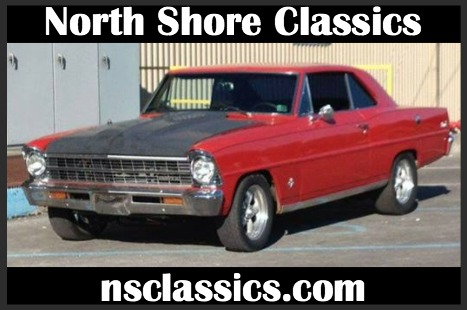 1967 Chevrolet Nova -383 STROKER- FUEL INJECTED-SEE VIDEO