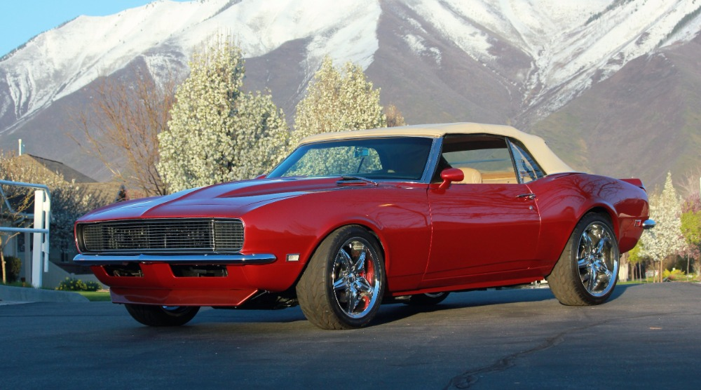 Used 1968 Chevrolet Camaro RARE RS CONVERTIBLE- 1 OF 7 CUSTOM MADE AND ONLY 1 OF 2 CONVERTIBLES MADE! | Mundelein, IL
