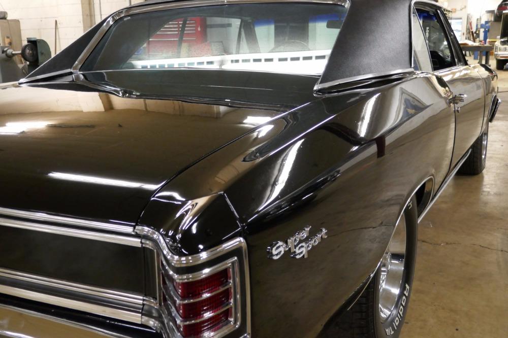 Used 1967 Chevrolet Chevelle -SUPER SPORT- 396/5-SPEED-TRIPLE BLACK- SEE VIDEO | Mundelein, IL