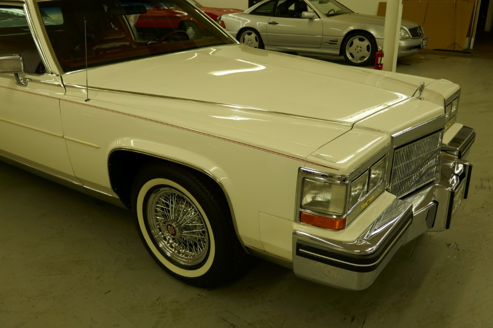 Used 1985 Cadillac Fleetwood -BROUGHAM- ALL ORIGINAL LOADED SURVIVOR- | Mundelein, IL