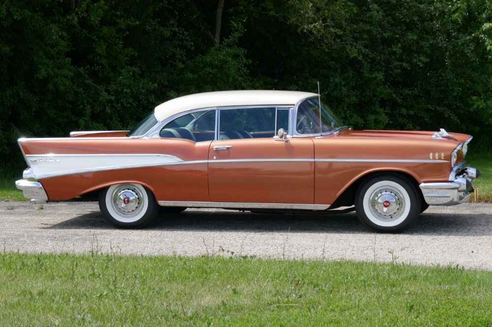 1957 Chevrolet Bel Air -BEAUTIFUL SIERRA GOLD CLASSIC CRUISER- 283/2 ...
