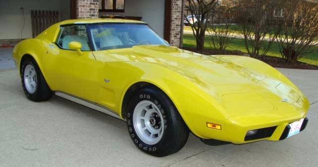 Used 1977 Chevrolet Corvette -ONE OWNER- 40k ACTUAL MILES- NUMBERS MATCHING- | Mundelein, IL