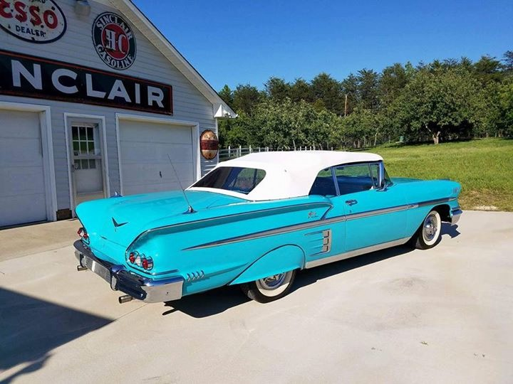 Used 1958 Chevrolet Impala -RESTORED CONVERTIBLE FROM NORTH CAROLINA- | Mundelein, IL