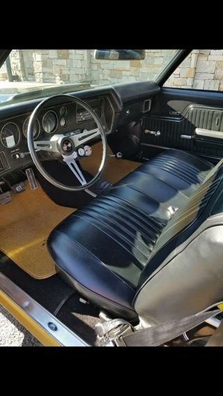 Used 1971 Chevrolet Chevelle -SS454 WITH 4 SPEED-ALL ORIGINAL-SUPER SPORT FROM ALABAMA- | Mundelein, IL