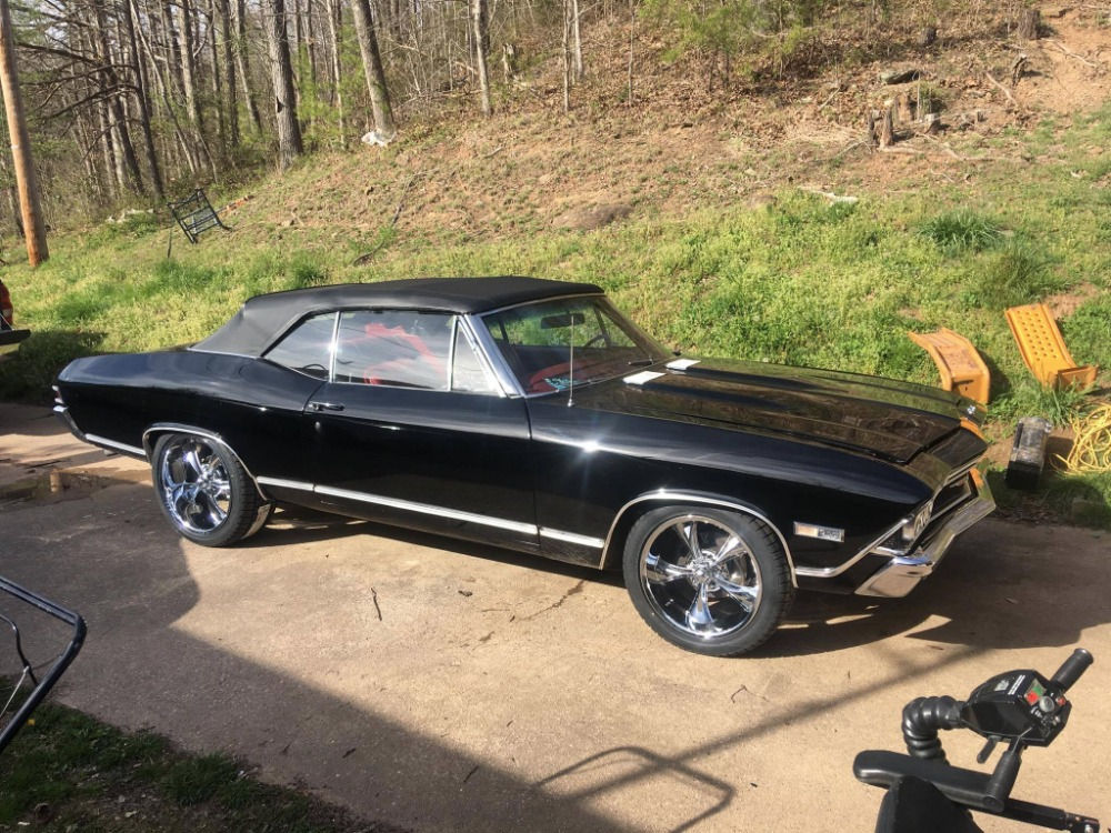 Used 1968 Chevrolet Chevelle -SWEET CONVERTIBLE WITH AIR CONDITIONING-FROM WEST VIRGINIA- | Mundelein, IL