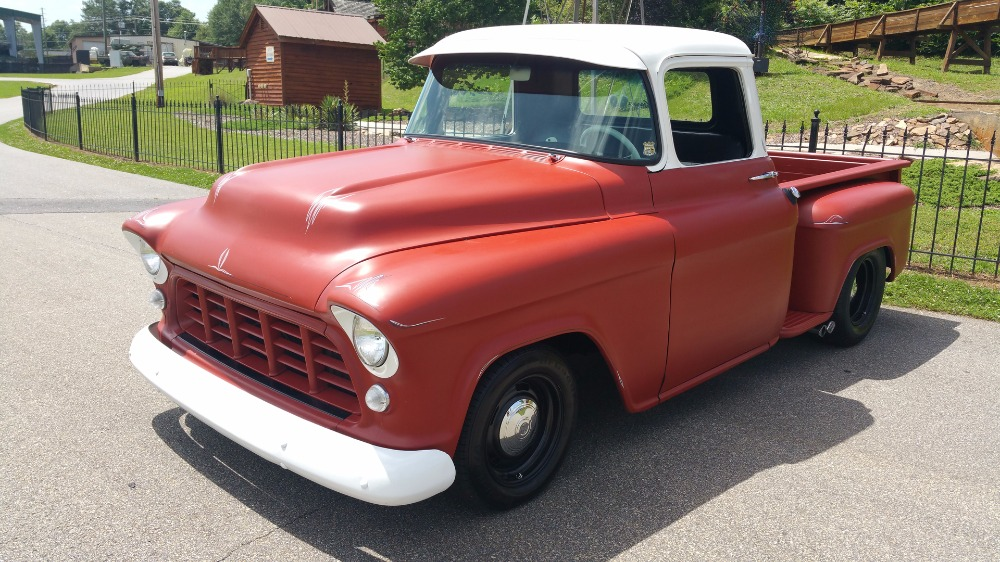 Used 1955 Chevrolet 3100 -2ND GENERATION TASK FORCE ALL STEEL PICK UP TRUCK- | Mundelein, IL
