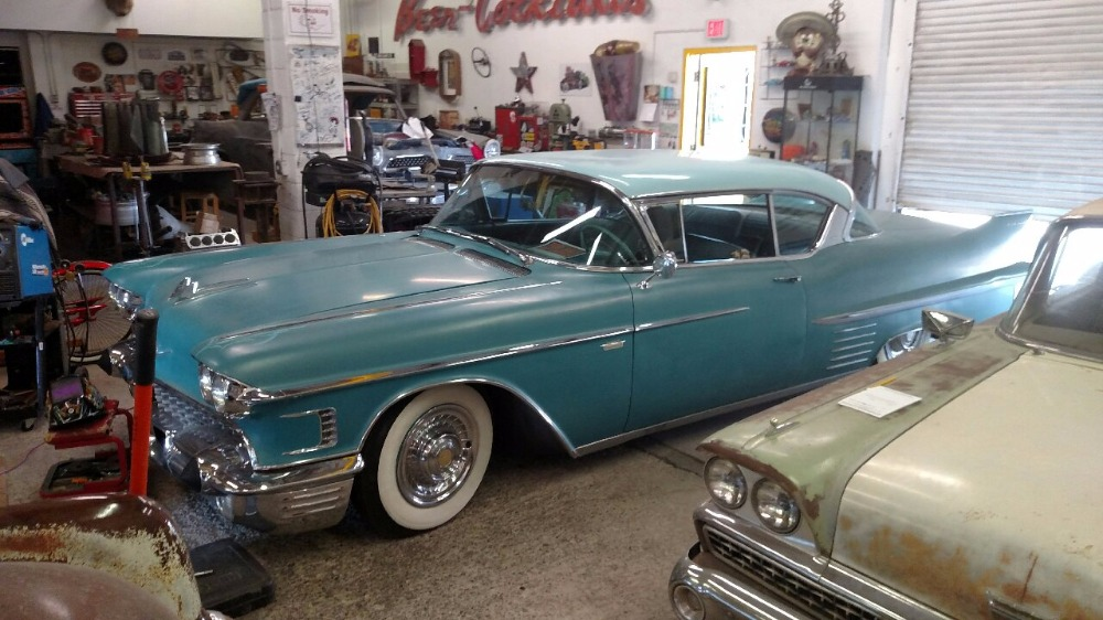 Used 1958 Cadillac Coupe DeVille -NEW MEXICO CADDY- | Mundelein, IL