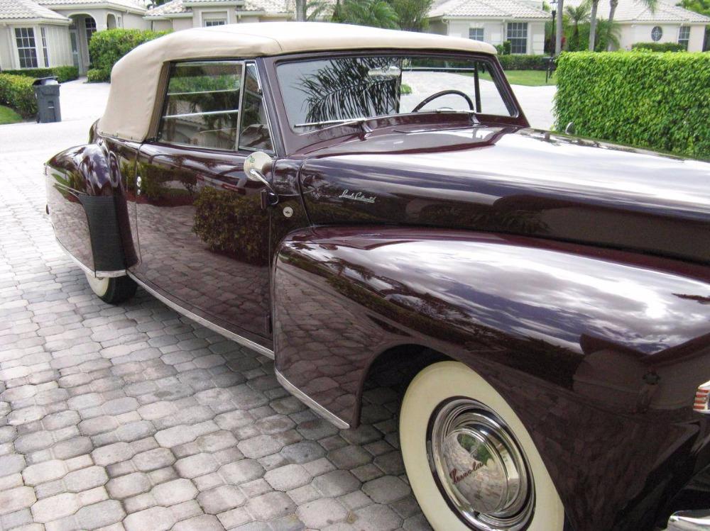 1948 Lincoln Continental -CABRIOLET- AWARD WINNING- RARE CONVERTIBLE ...
