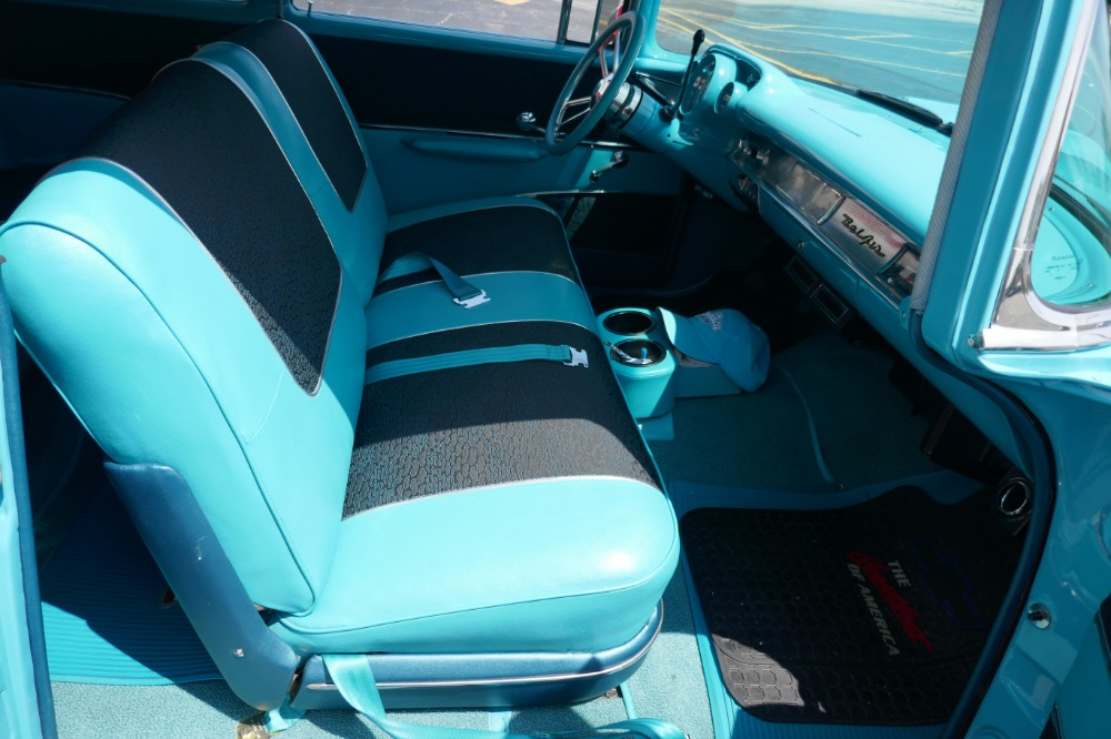 1957 chevrolet bel air 210 wagon resto mod w bel air trim nomad interior see video stock. Black Bedroom Furniture Sets. Home Design Ideas