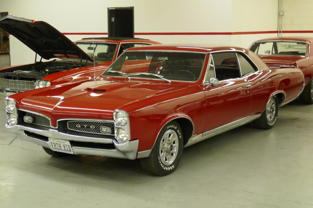 Pontiac GTO REAL VINNUMBERS MATCHING W PHS DOCS ORIG - Window stickers for cars by vin