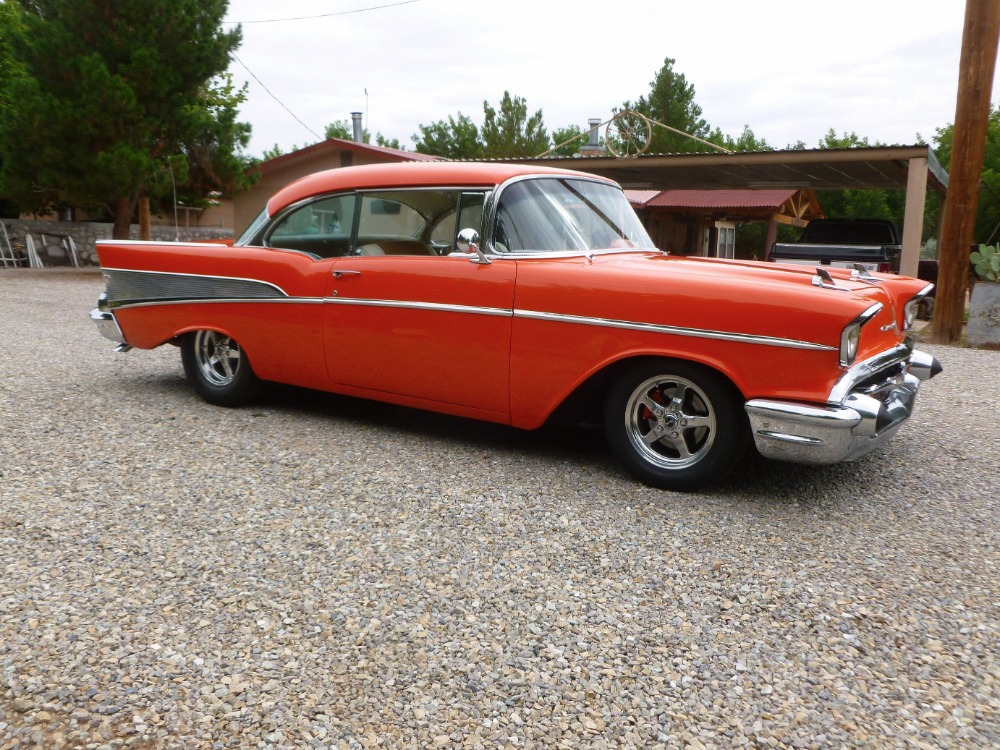 Used 1957 Chevrolet Bel Air -400 HP - MSD - BUCKET SEATS- GREAT QUALITY DRIVER- | Mundelein, IL