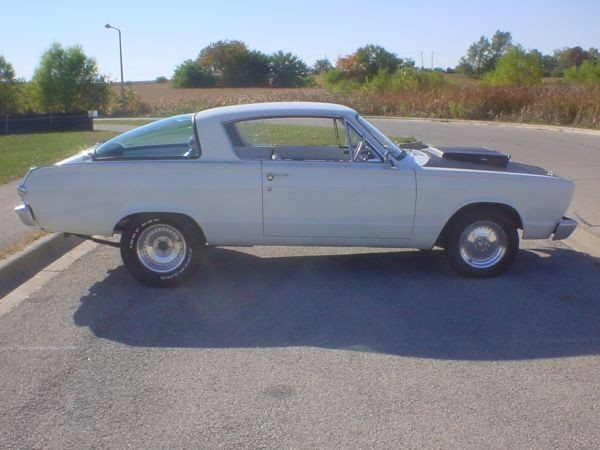 1966 Plymouth Barracuda Very Nice condition Stock # 12352 for sale