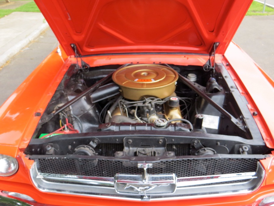 Used 1965 Ford Mustang -POPPY RED CONVERTIBLE PONY- NUMBERS MATCHING-   Mundelein, IL