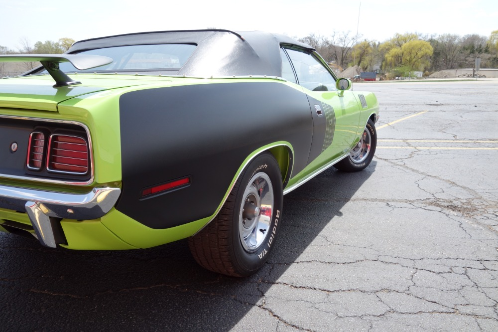 Used 1971 Plymouth Barracuda / Cuda -426 HEMI- 4 SPEED MANUAL -  PISTOL GRIP SHIFTER -SEE VIDEO | Mundelein, IL