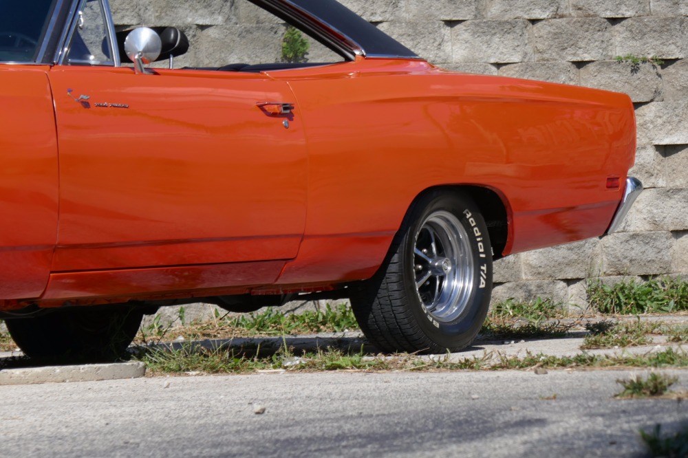 Used 1969 Plymouth Road Runner -REAL H CODE 383-HEMI ORANGE-SOLID MOPAR-AIR GRABBER-SEE VIDEO | Mundelein, IL
