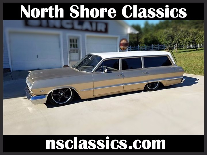 Used 1963 Chevrolet Bel Air -STATION WAGON- 9 PASSENGER SEATING- | Mundelein, IL