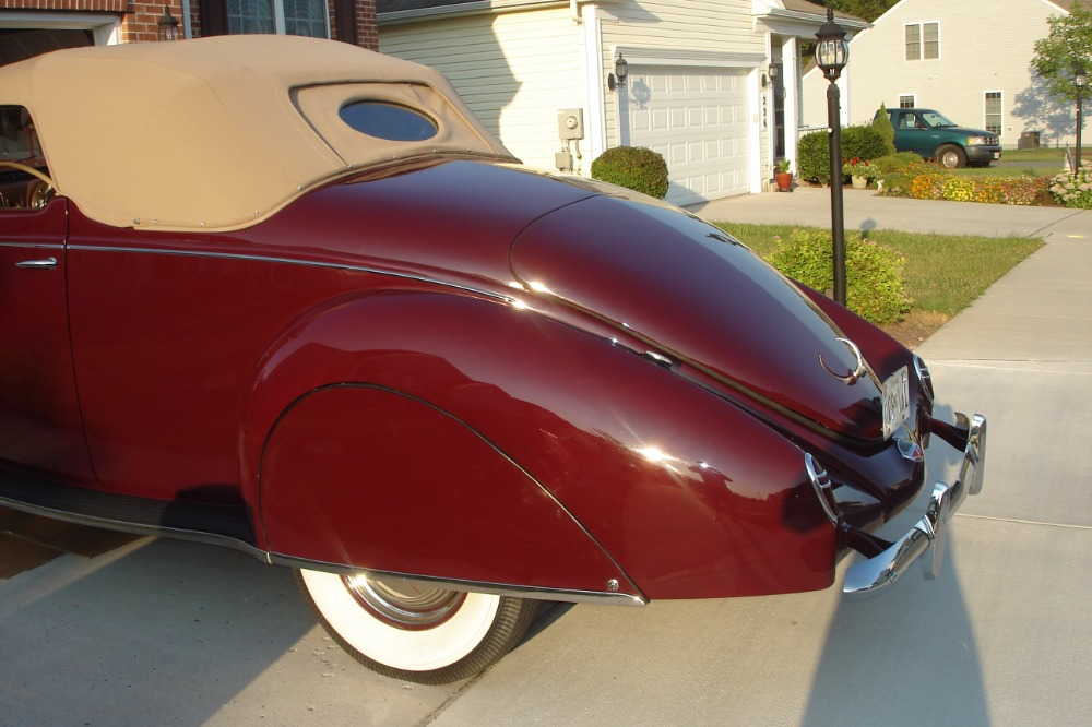 Used 1938 Lincoln Hot Rod / Street Rod -ZEPHYR-3 PASSENGER- AWARD WINNING - CONVERTIBLE COUPE - 292 V12- | Mundelein, IL