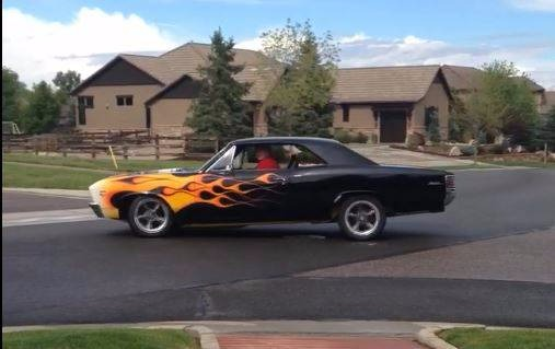 Used 1967 Chevrolet Chevelle -454-MANUAL 6 SPEED TRANS-CUSTOM FLAME PAINT JOB-SLICK CAR-SEE VIDEO | Mundelein, IL