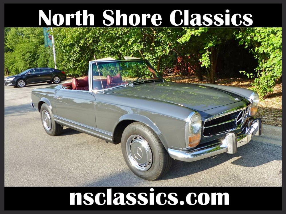 1969 mercedes benz 280sl convertible with pagoda hard for Top mercedes benz dealerships