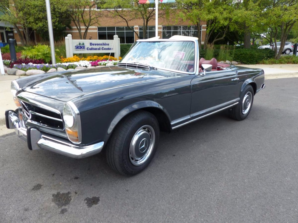 1969 mercedes benz 280sl convertible with pagoda hard for Mercedes benz usa email