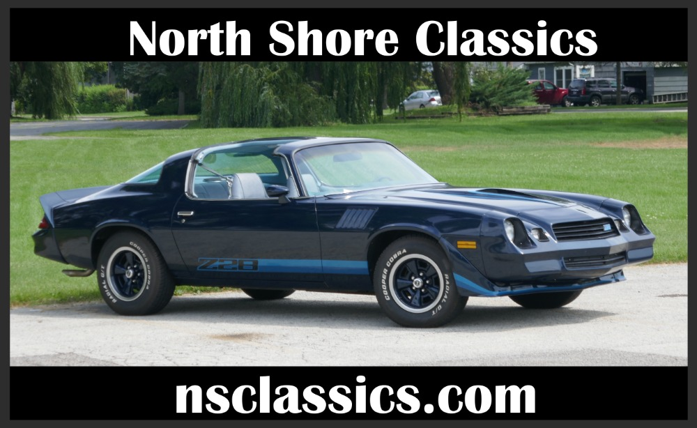 Used 1979 Chevrolet Camaro UNMOLESTED Z28-A BEAUTIFUL PURE EXAMPLE - LOW MILES - SEE VIDEO | Mundelein, IL