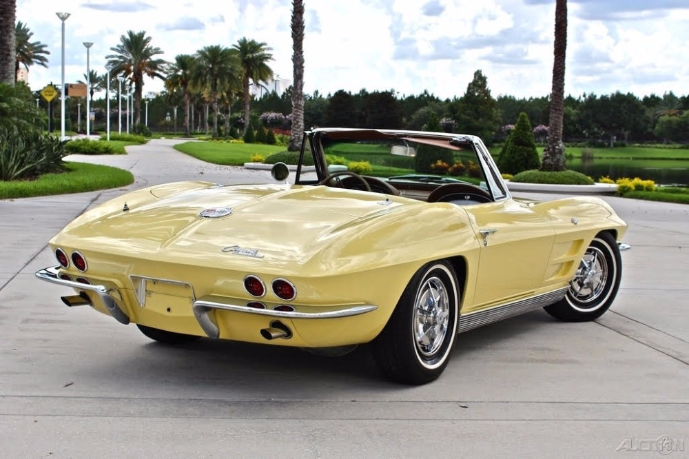 Used 1963 Chevrolet Corvette -RARE-CONVERTIBLE- STINGRAY- NUMBERS MATCHING   Mundelein, IL