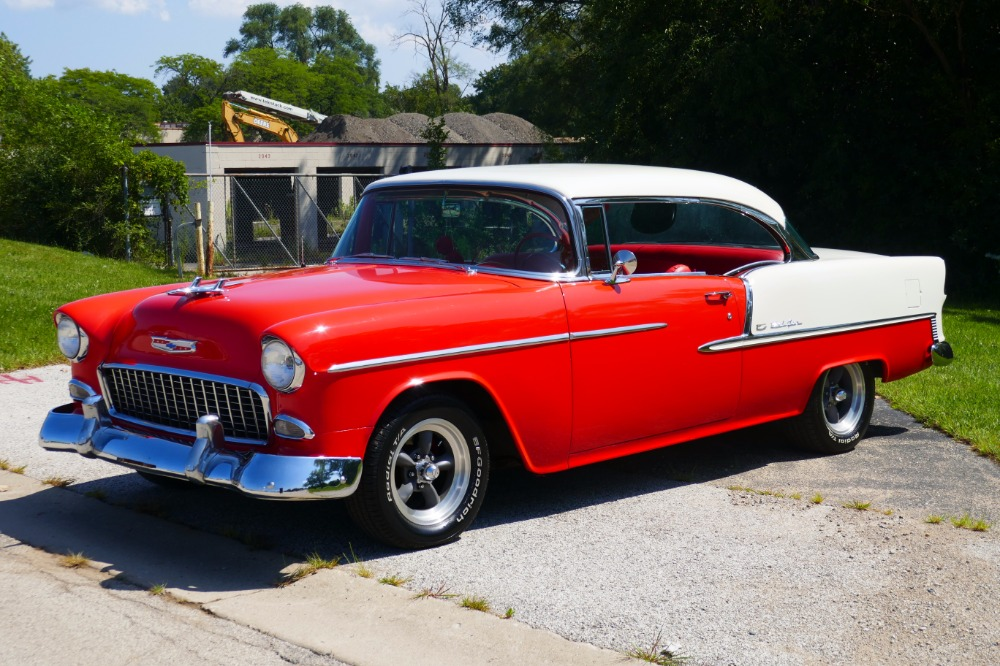 Used 1955 Chevrolet Bel Air -BIG BLOCK-PERFECT COLOR COMBO-NEW ARRIVAL-SEE VIDEO | Mundelein, IL