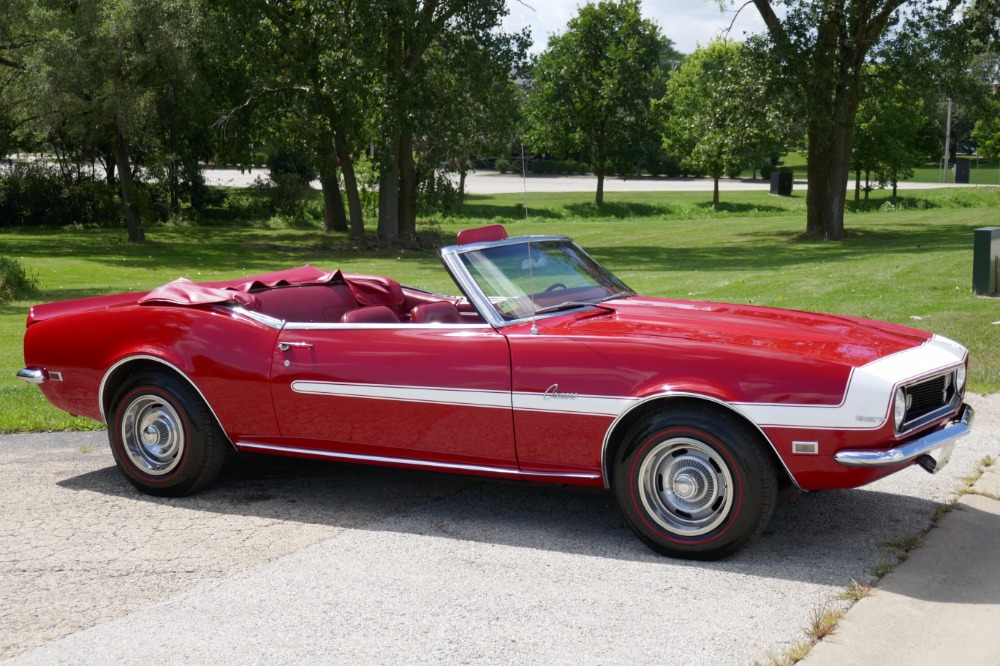 Used 1968 Chevrolet Camaro -NUMBERS MATCHING INVESTMENT GRADE CONVERTIBLE-SEE VIDEO | Mundelein, IL