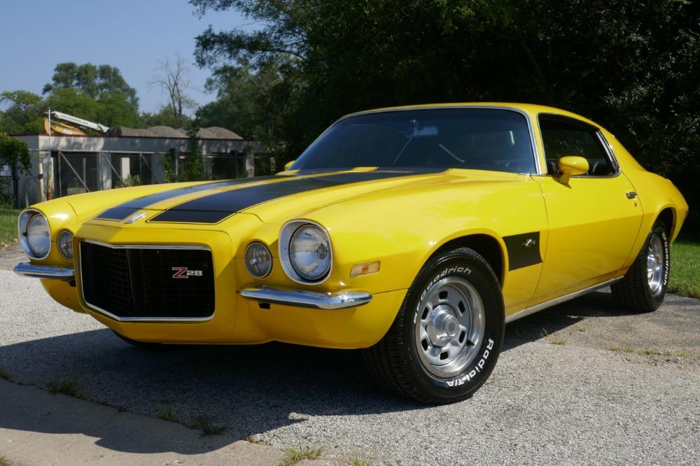 Used 1970 Chevrolet Camaro -SPLIT BUMPER Z/28 Look-NICE PAINT WEST COAST CAR- SEE VIDEO | Mundelein, IL