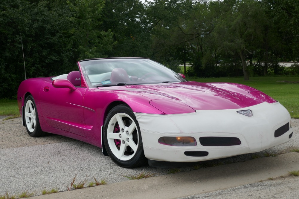 1998 chevrolet corvette celebrity owned c5 convertible 57 ls used 1998 chevrolet corvette celebrity owned c5 convertible 57 ls hot pink vette sciox Images