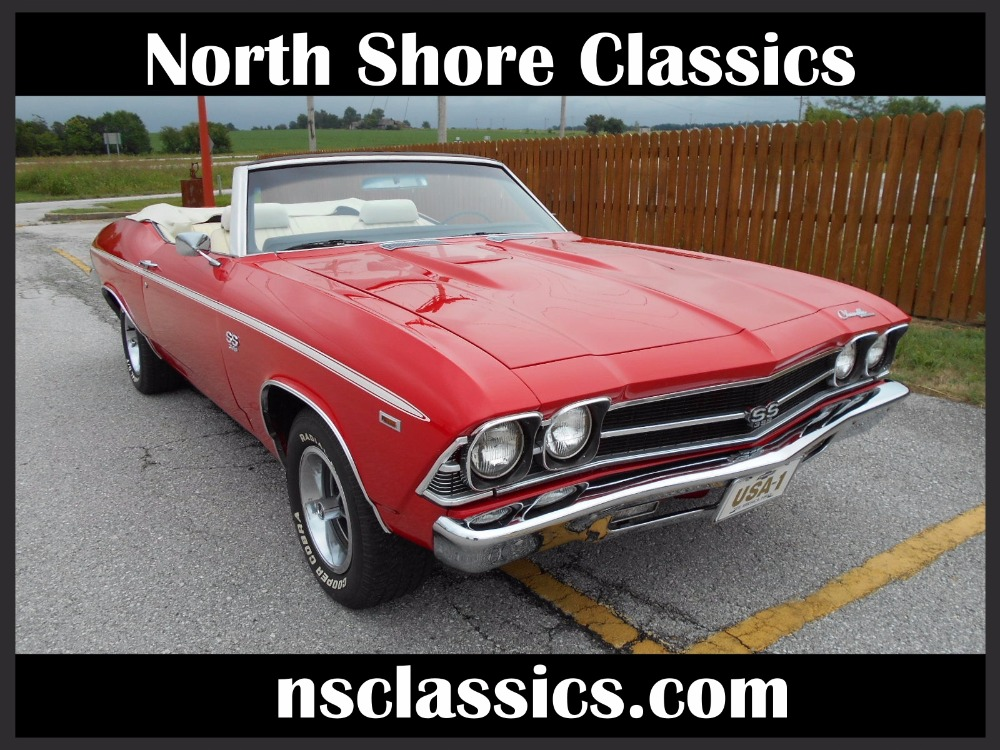Used 1969 Chevrolet Chevelle -CONVERTIBLE SUPER SPORT- 396 V8/ AUTOMATIC | Mundelein, IL