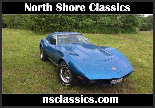 Used 1974 Chevrolet Corvette -WELL MAINTAINED 4SPEED STINGRAY- T-TOPS- SUMMER CAR | Mundelein, IL