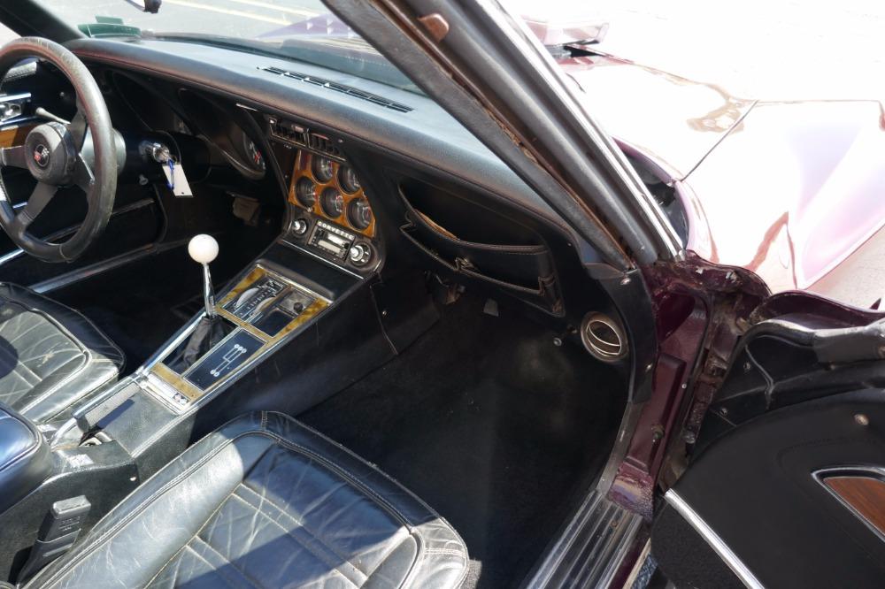 Used 1973 Chevrolet Corvette -350 V8/ 4SPEED MANUAL-BIG BLOWN VETTE-SEE VIDEO | Mundelein, IL