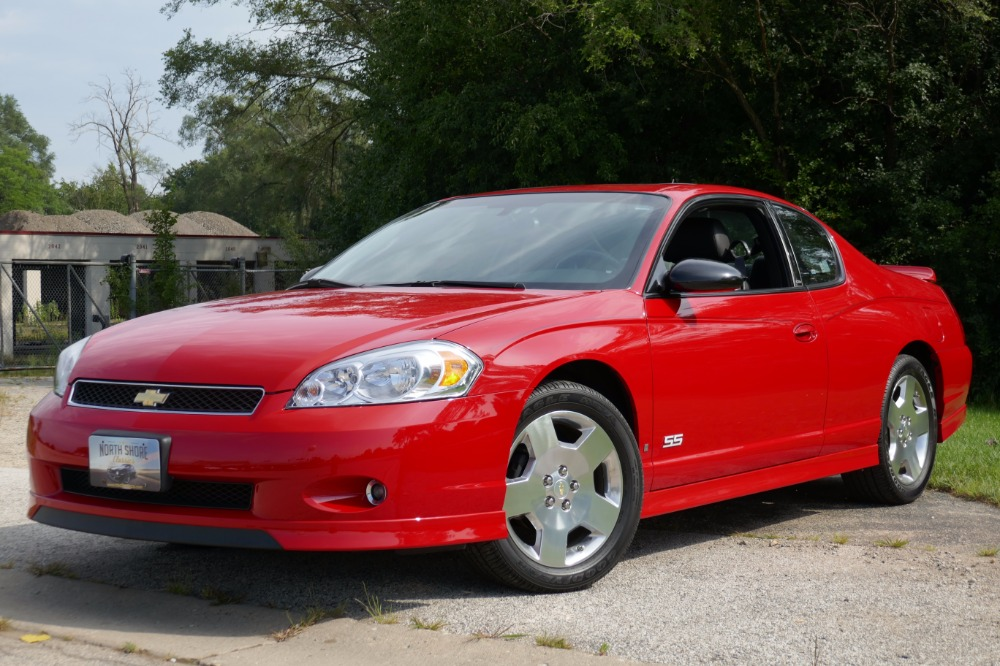 2006 chevrolet monte carlo ss 15k original miles 2 owner. Black Bedroom Furniture Sets. Home Design Ideas
