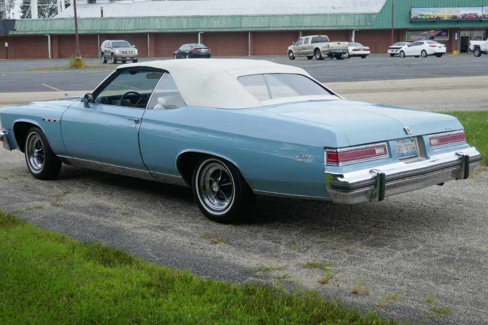 Used 1975 Buick LeSabre -PRICE DROP - CONVERTIBLE -SUPER LOW MILES- NEW PAINT 2017-SEE VIDEO | Mundelein, IL