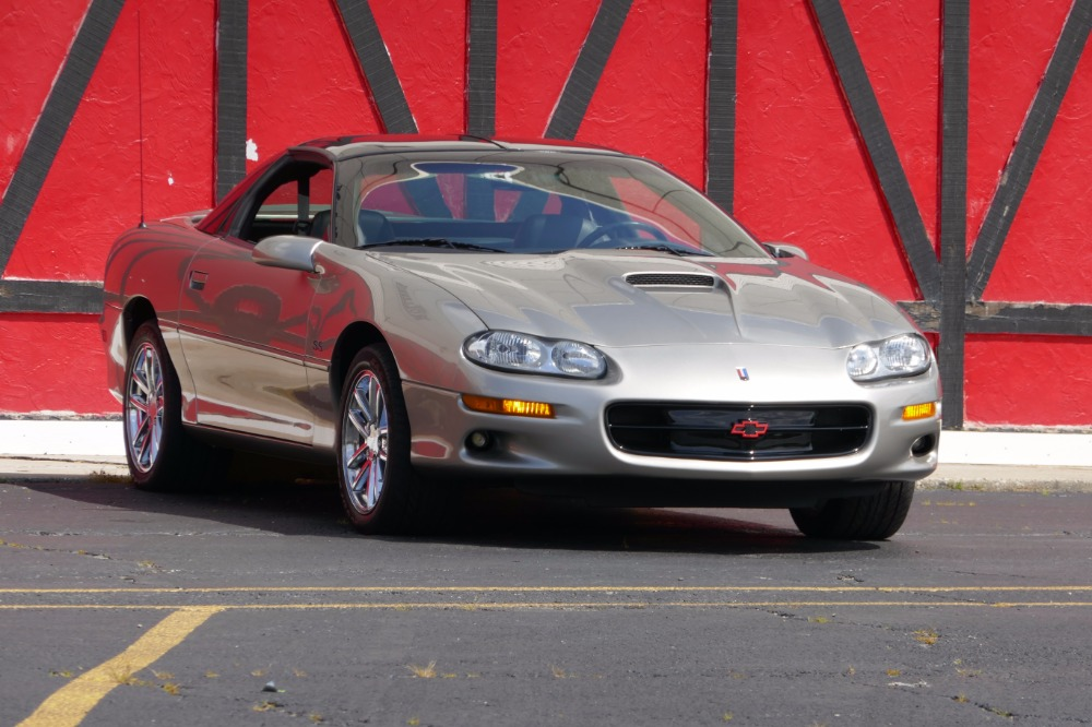 Used 2001 Chevrolet Camaro -SS Z/28- ONLY 9,800 ORIGINAL MILES-T TOPS LS1-SEE VIDEO | Mundelein, IL