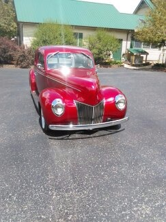 Used 1939 Ford Hot Rod / Street Rod -RESTORED- 5 WINDOW COUPE- SEE VIDEO | Mundelein, IL