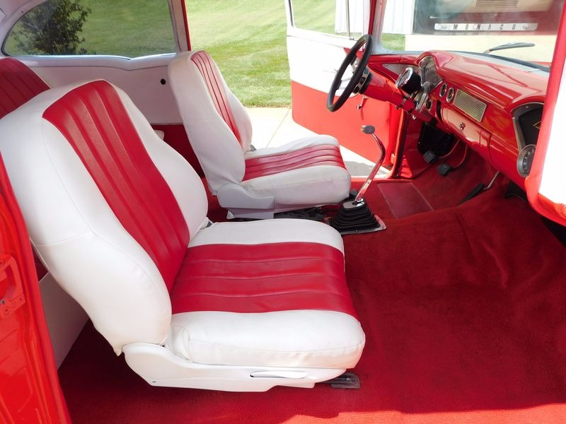 Used 1955 Chevrolet Bel Air -2 DOOR POST CAR- 383 STROKER/4SPEED MUNCIE- | Mundelein, IL