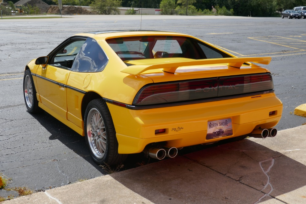 1987 Pontiac Fiero -GT- 3 8 L/ 5-SPEED- SUPERCHARGED V6- SEE