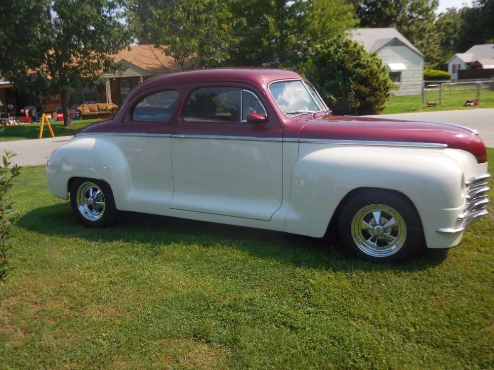1948 plymouth business coupe custom resto mod stock 15302cvok