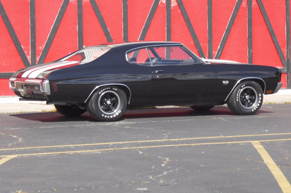 Used 1970 Chevrolet Chevelle -SS396-TUXEDO BLACK WITH 4 SPEED-SEE VIDEO | Mundelein, IL