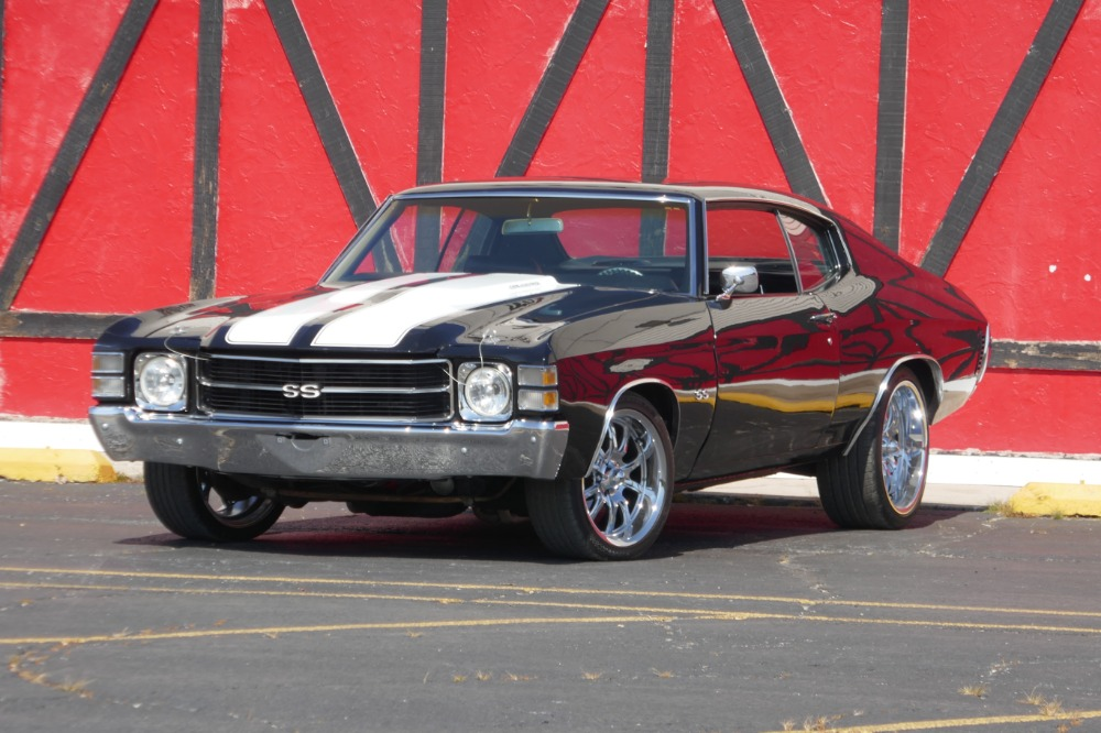 1971 Chevrolet Chevelle Ss454 Restored In 2016 Pro Touring Look See