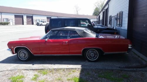 Used 1965 Chevrolet Impala -VERY NICE RELIABLE CONVERTIBLE WITH 4 SPEED- | Mundelein, IL